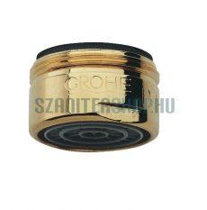 (13929G00) Grohe Arany felületű gyöngyöztető perlátor (habosító, gyöngyöztető) M24x1, (mosdókhoz)