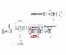 Grohe Lahrer központi termosztát, váltószelep 14067000
