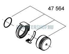 Grohe XL termosztát keverőszelep gomb mozgató egység 47564